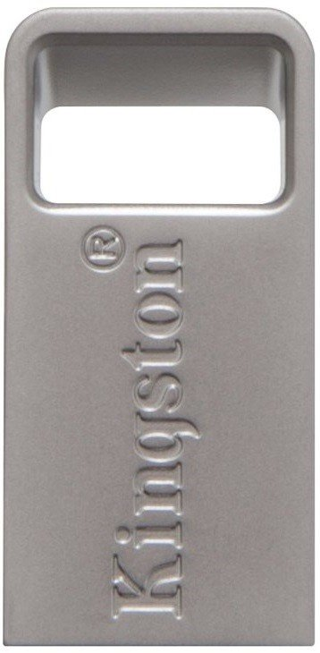 Накопичувач USB 3.1 KINGSTON DT Micro 64GB Metal Silver (DTMC3/64GB) фото