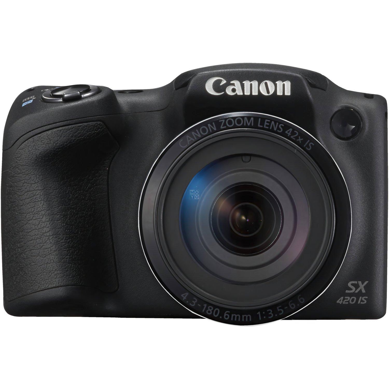 Фотоаппарат CANON PowerShot SX420 IS Black (1068C012) фото