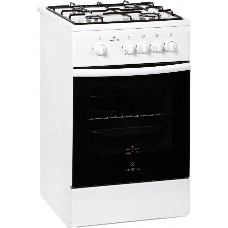 Газова плита GRETA 1470-00/20 біла фото2
