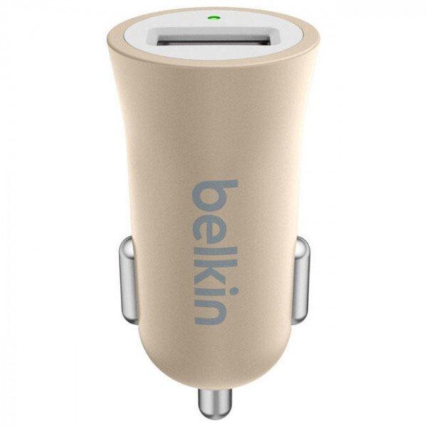 Автомобільний зарядний пристрій Belkin Mixit Premium 2.4A Gold фото