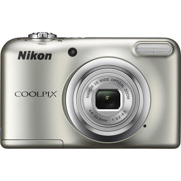 ≡ Фотоапарат NIKON Coolpix A10 Silver (VNA981E1) – купити в Києві ... a7d2440e32ee2