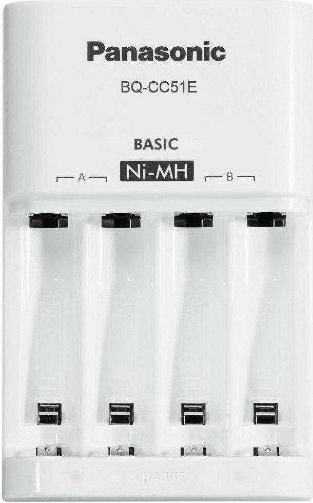 Зарядний пристрій Panasonic Basic Charger + Eneloop 4AA 1 900 mAh Newфото