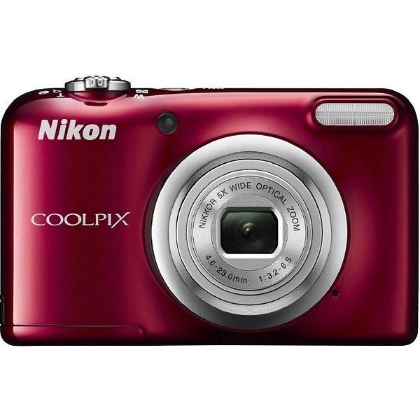≡ Фотоапарат NIKON Coolpix A10 Red (VNA982E1) – купити в Києві ... be8fdc5f9ebd4