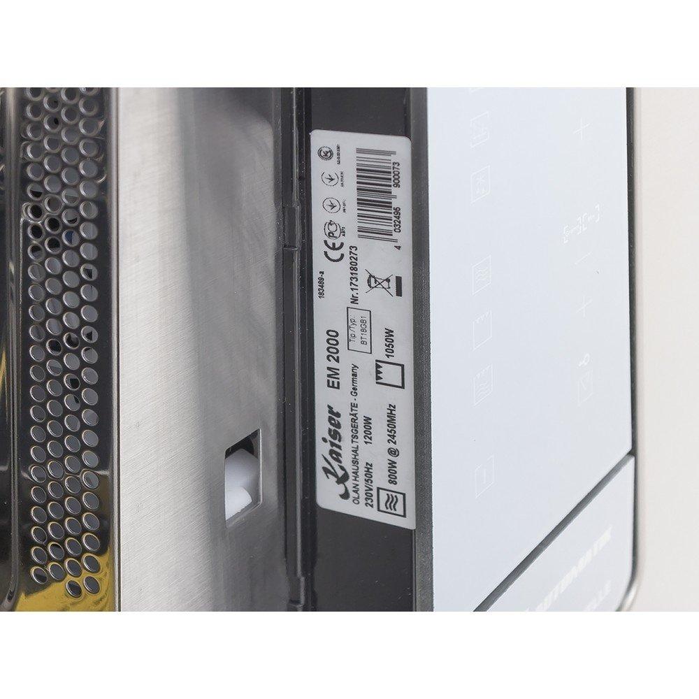 Встраиваемая микроволновая печь Kaiser EM 2000 фото