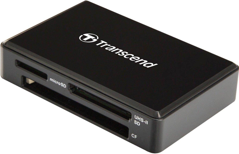 Кардрідер TRANSCEND USB 3.1 RDF9K UHS-II Black R260/W190MB/sфото2