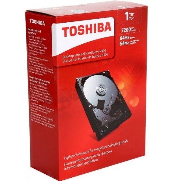 """Жесткий диск внутренний TOSHIBA 3.5"""" SATA 3.0 1TB 7200RPM 6GB/S/64MB (HDWD110UZSVA) фото 2"""