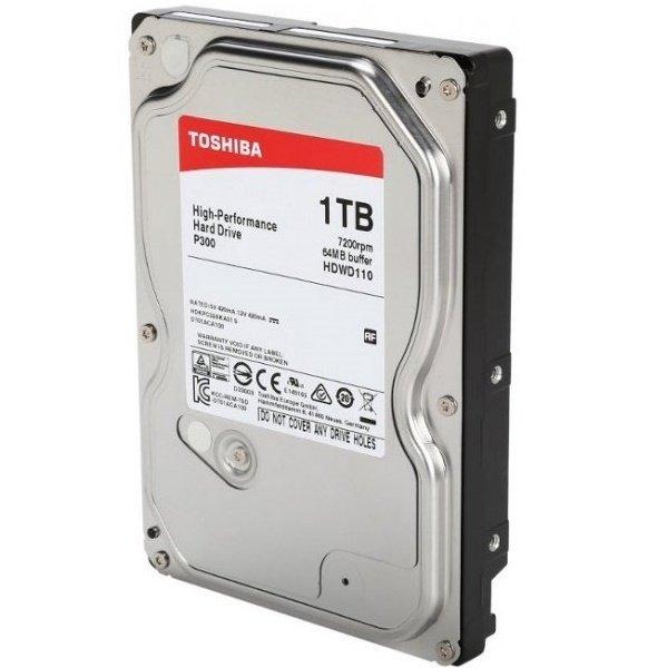 """Жесткий диск внутренний TOSHIBA 3.5"""" SATA 3.0 1TB 7200RPM 6GB/S/64MB (HDWD110UZSVA) фото 3"""