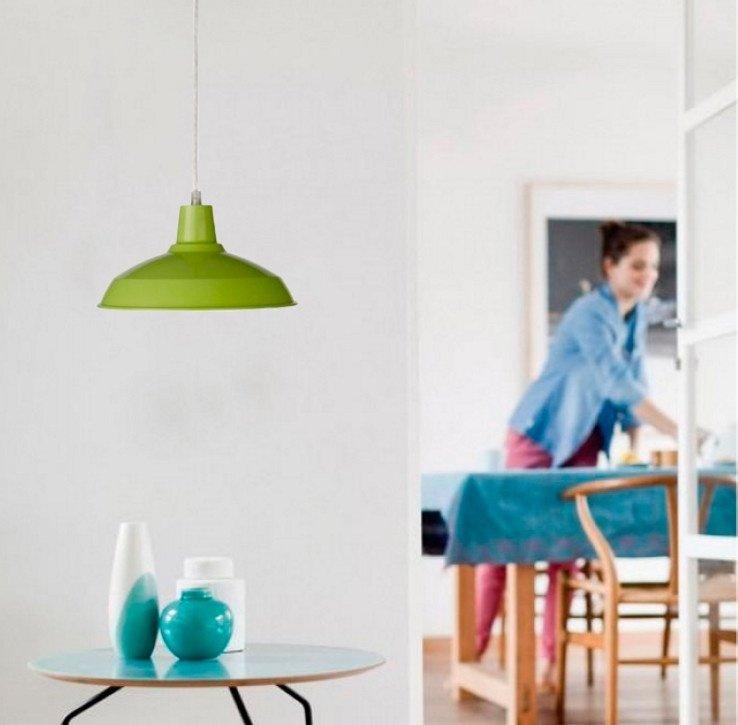 Світильник підвісний Philips Massive Janson 408513310 1x60W 230V Greenфото