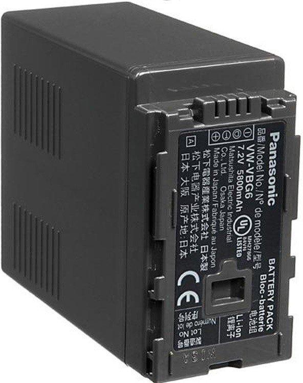 Аккумулятор Panasonic VW-VBG6E-K для видеокамер (VW-VBG6E-K) фото
