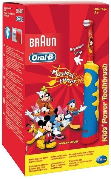 ≡ Зубна електрощітка BRAUN ORAL B D10.513 (music) дитяча – купити в ... c93dfed94f8aa