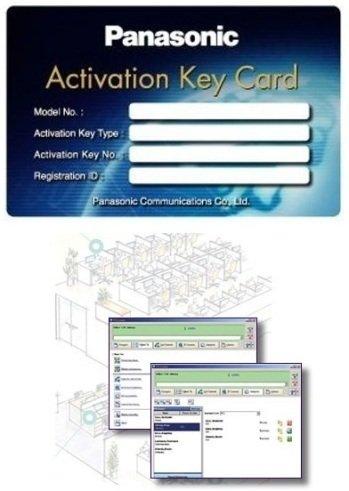 Ключ-опция Panasonic KX-NSU102X для 2 каналов встроенной голосовой почты для АТС KX-NS1000 фото