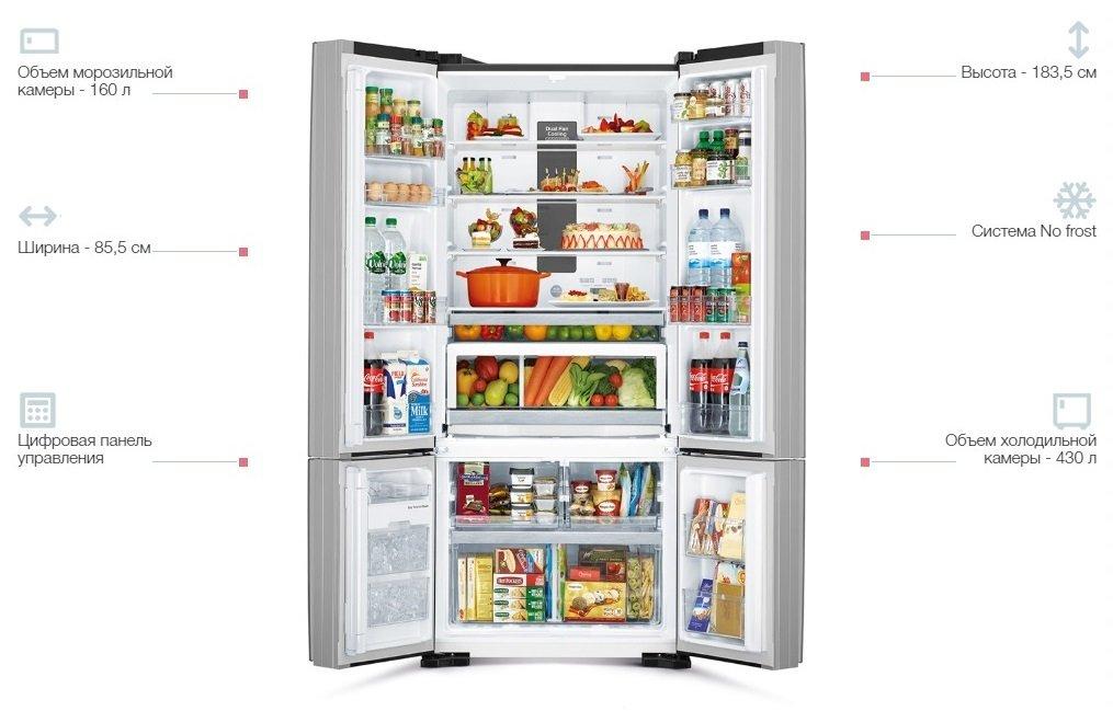 Холодильник Hitachi R-WB730PUC5GBKфото4