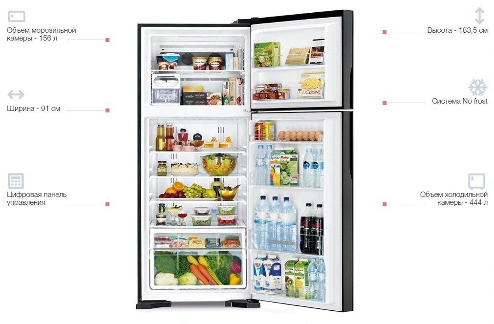 Холодильник Hitachi R-V720PUC1KTWH фото3