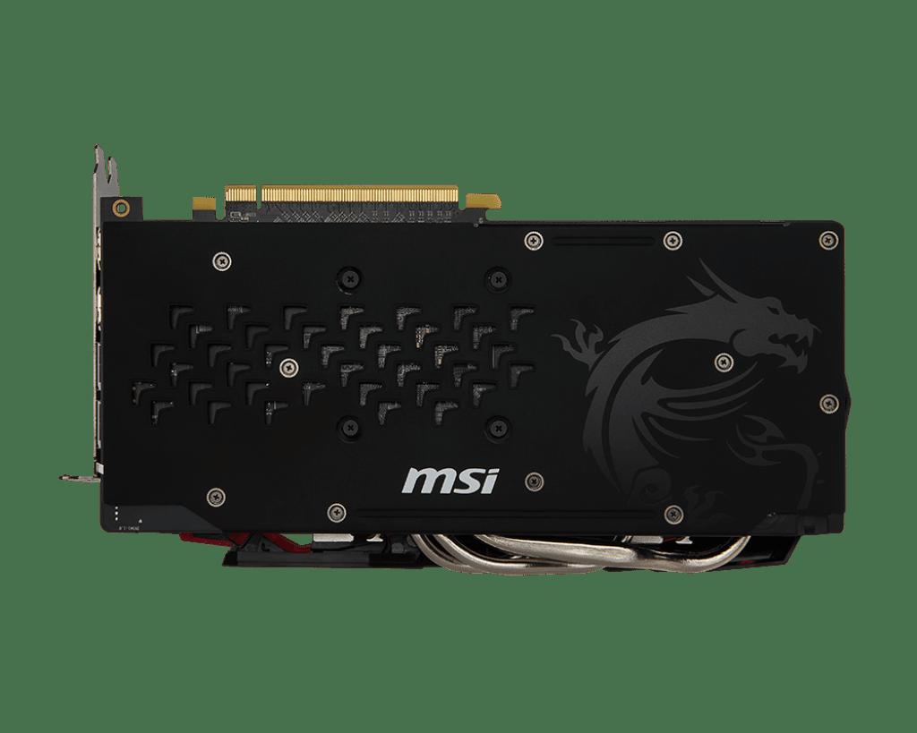 ≡ Видеокарта MSI Radeon RX 480 4GB GDDR5 Gaming X 4G