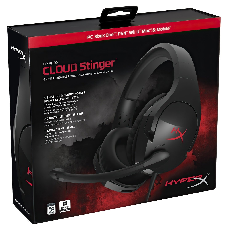 Игровая гарнитура HyperX Cloud Stinger Gaming Headset Black (HX-HSCS-BK/EE) фото 8