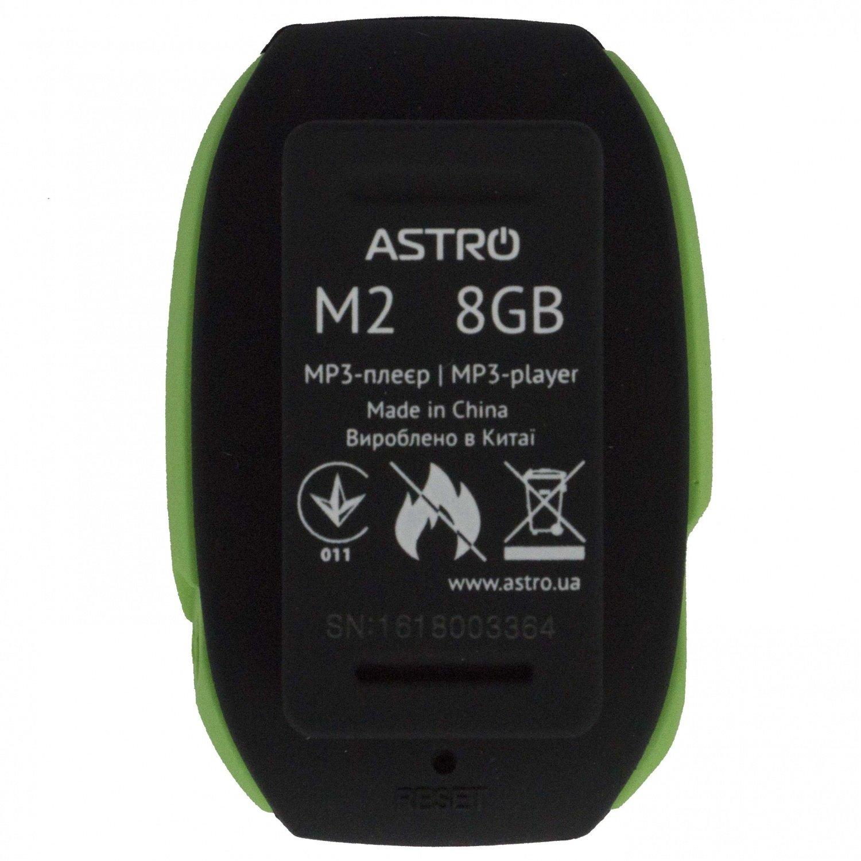 MP3 плеер ASTRO M2 8 Gb Black/Green фото