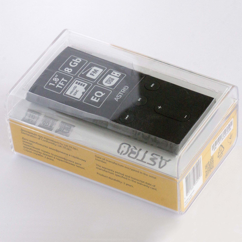 Мультимедіаплеєр ASTRO M3 8 Gb Blackфото5