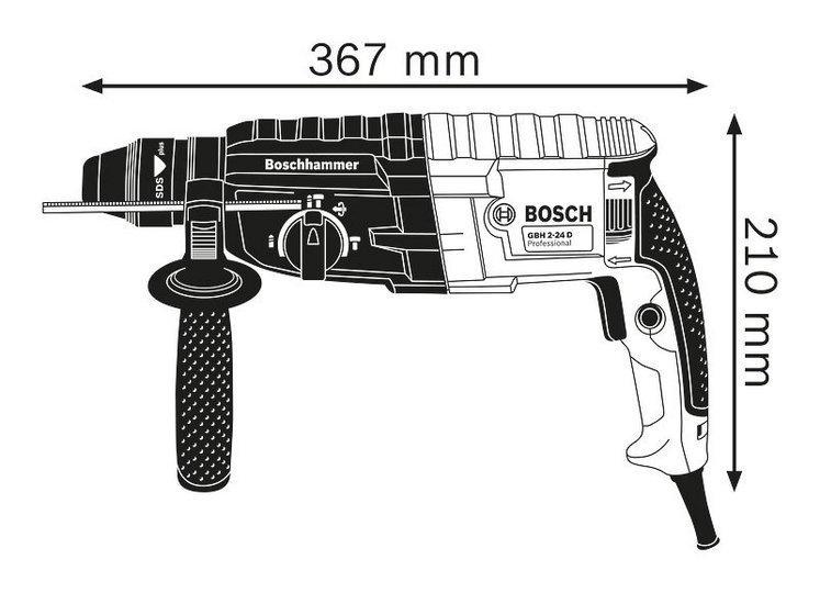 Перфоратор Bosch GBH 2-24 DRE фото