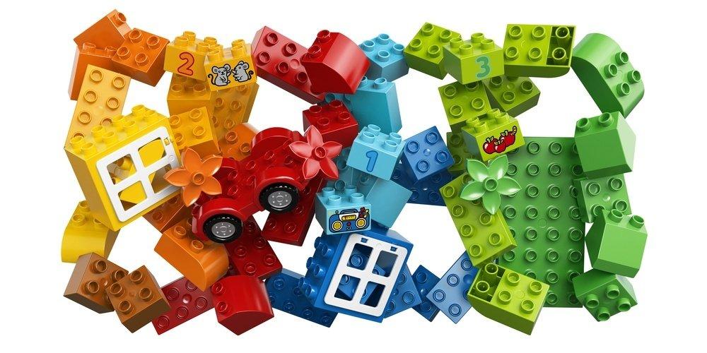 Конструктор lego duplo веселая коробка