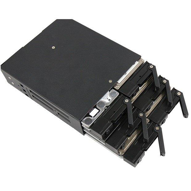 """Отсек для накопителя CHIEFTEC Backplane CMR-625, 6x2.5"""" HDD/SSD,1x5.25"""" EXT Slot,SATA,черный,RETAIL фото 4"""