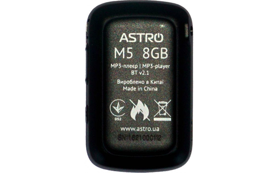 Мультимедіаплеєр ASTRO M5 8GB Black фото2