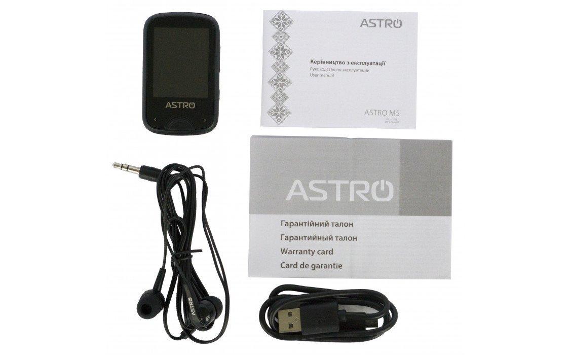 Мультимедіаплеєр ASTRO M5 8GB Black фото5