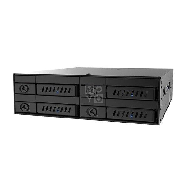 """Отсек для накопителя CHIEFTEC Backplane CMR-425, 4x2.5"""" HDD/SSD,1x5.25"""" EXT Slot,SATA,черный,RETAIL фото 2"""