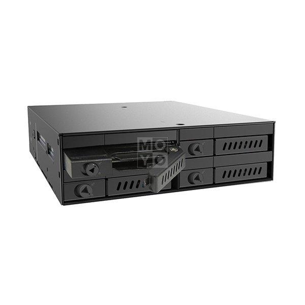 """Отсек для накопителя CHIEFTEC Backplane CMR-425, 4x2.5"""" HDD/SSD,1x5.25"""" EXT Slot,SATA,черный,RETAIL фото 3"""
