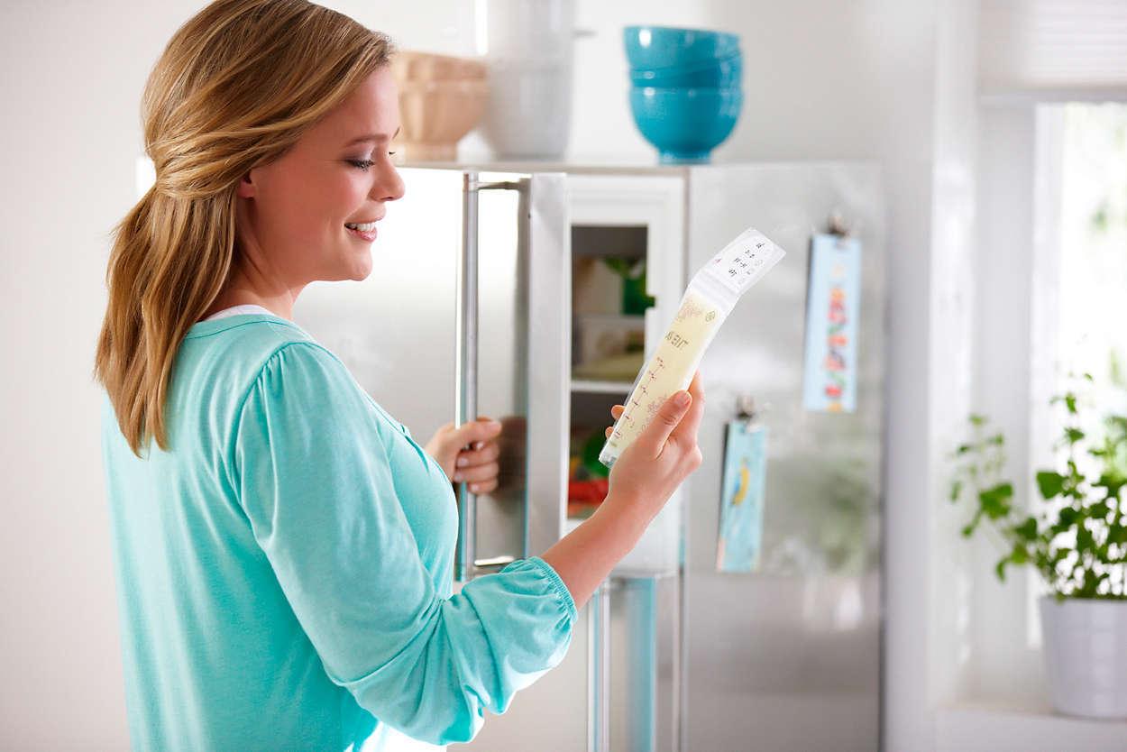 Пакеты для хранения грудного молока AVENT 180мл 25шт (SCF603/25) фото 2
