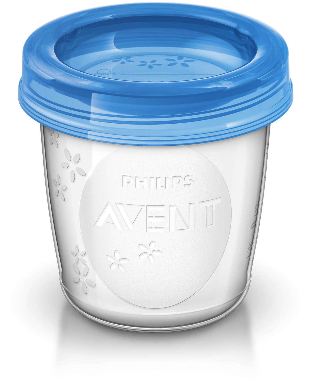 Контейнеры для хранения грудного молока AVENT (SCF618/10) фото 2