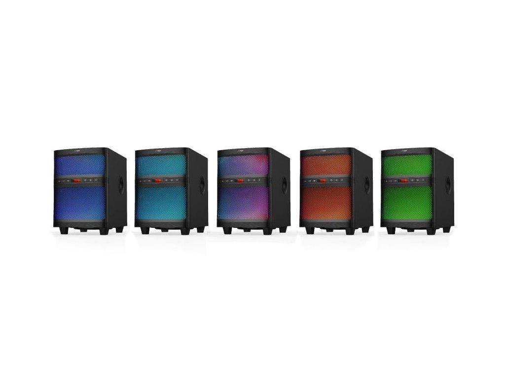 Акустична система 2.1 F&D T-200X Blackфото2