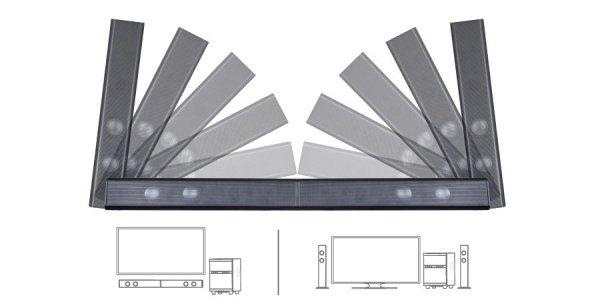 Акустична система 2.1 F&D T-200X Blackфото4