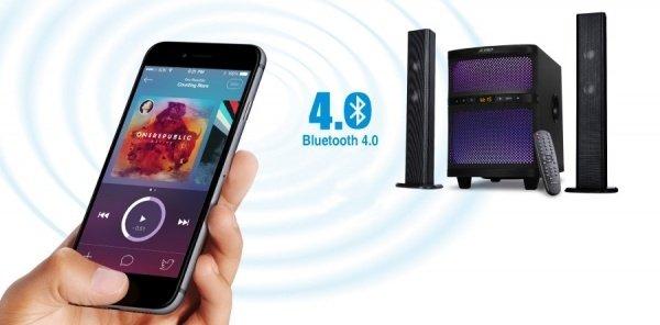 Акустична система 2.1 F&D T-200X Blackфото5