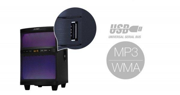 Акустична система 2.1 F&D T-200X Blackфото6