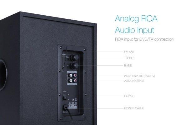 Акустична система 2.1 F&D T-200X Blackфото8