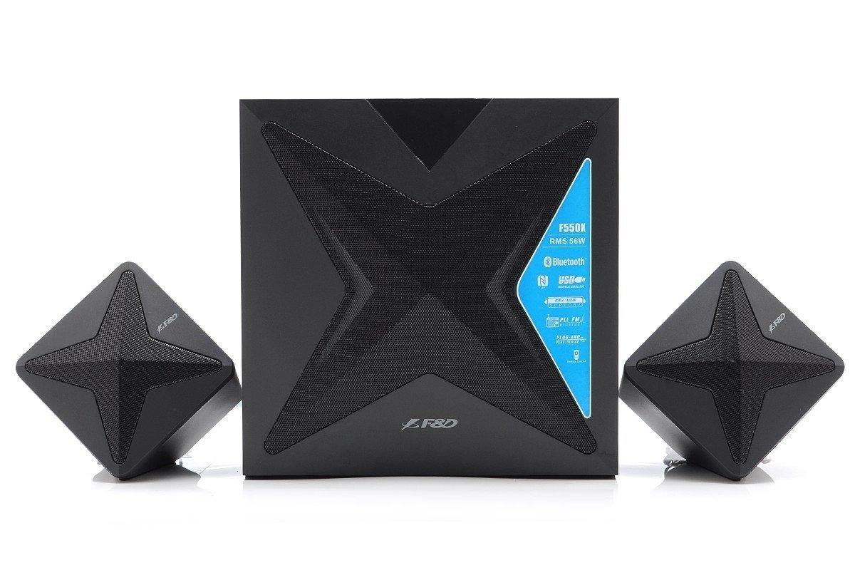 Акустична система 2.1 F & D F550X Black (490121) фото