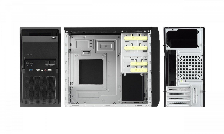 Корпус ПК CHIEFTEC Libra LT-01B БП iArena GPA-400S8 400Вт черный (LT-01B-400S8) фото