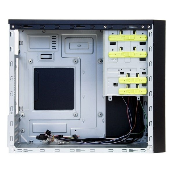 Корпус ПК CHIEFTEC Mesh CT-01B,с БП CHIEFTEC iArena GPA-450S8 450Вт черный (CT-01B-450S8) фото