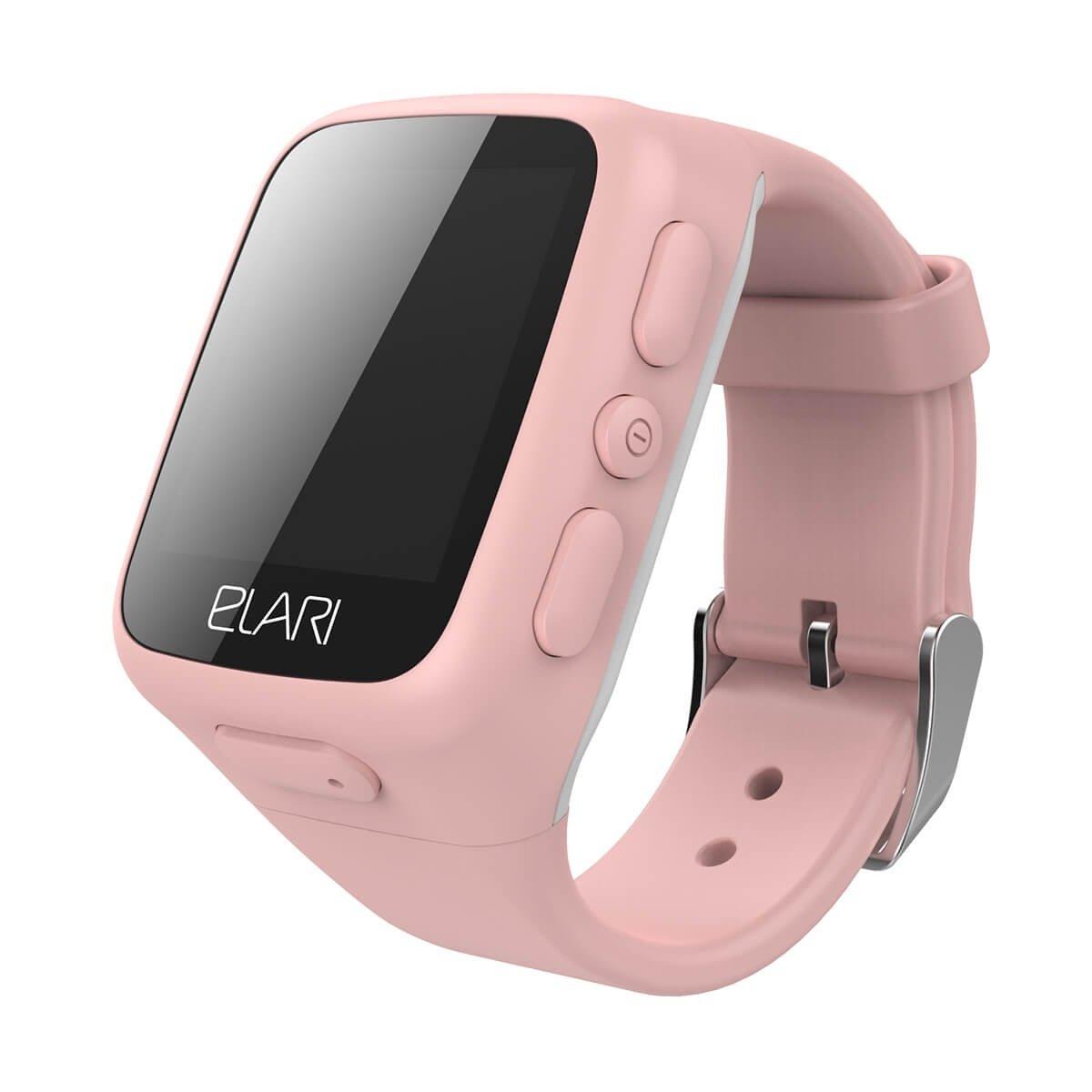 Дитячі смарт-годинник Elari KidPhone Pink з LBS-трекером і кольоровим  дисплеєм (KP 65a0a81ce78c3