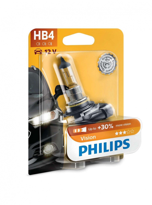 Лампа галогеновая Philips HB4 Vision (9006PRB1) фото 4