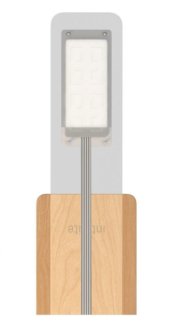 Настольный светильник Intelite desklamp Glass 8W (DL5-8W-TRL) фото 3
