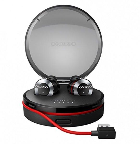 Наушники Bluetooth ONKYO W800BTB/00 Mic Black фото 2