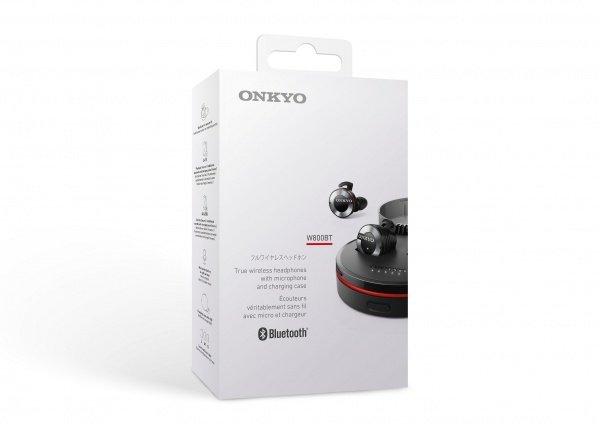 Наушники Bluetooth ONKYO W800BTB/00 Mic Black фото 6