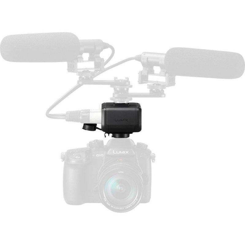 Адаптер для микрофона Panasonic для фотокамеры LUMIX GH5 (DMW-XLR1E) фото 4