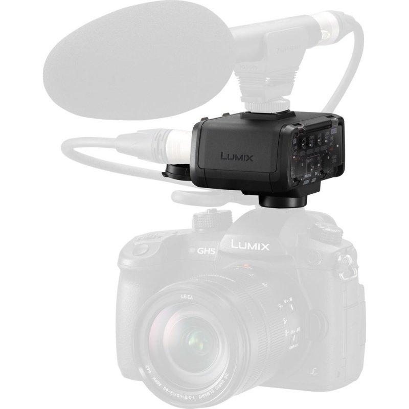 Адаптер для микрофона Panasonic для фотокамеры LUMIX GH5 (DMW-XLR1E) фото 3