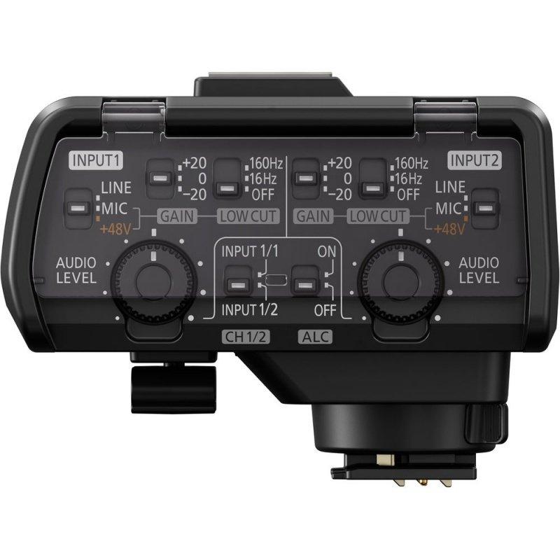 Адаптер для микрофона Panasonic для фотокамеры LUMIX GH5 (DMW-XLR1E) фото 2