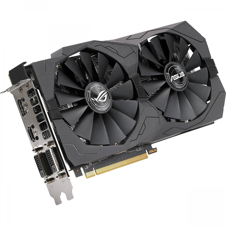 Видеокарта ASUS Radeon RX 570 ROG Strix 4GB GDDR5 (STRIX-RX570-4G-GAMING) фото 4
