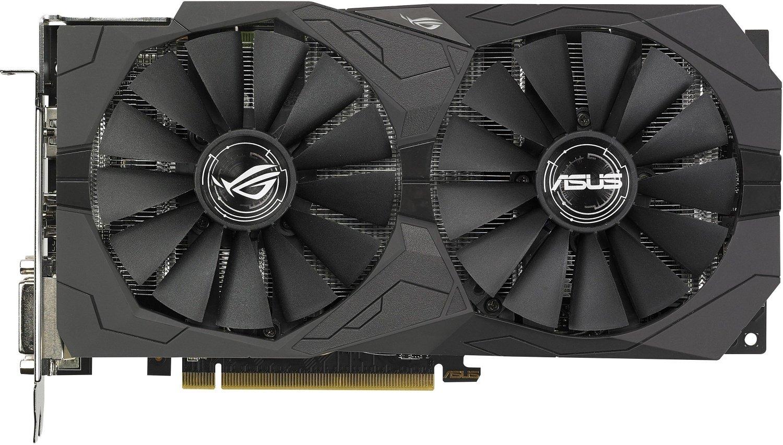 Видеокарта ASUS Radeon RX 570 ROG Strix 4GB GDDR5 (STRIX-RX570-4G-GAMING) фото 2