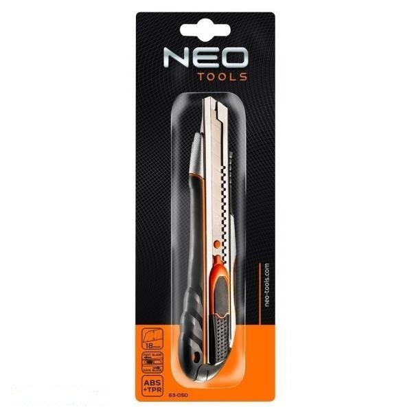 Нож строительный NEO 63-050 фото