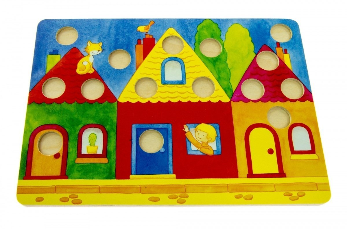 Настольная игра goki Лото Разноцветный мир (56705) фото